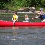 Canoeing on the Haw